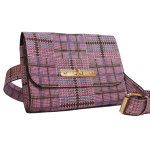 Blet Bag - Plaid with choclate brown