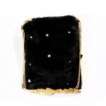 Crossbody Bag - Fluffy Rectangle Black