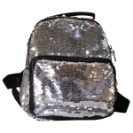 Backpack - Silver Sequins