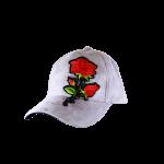 Cap Suede Flower Grey