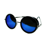 Sunglasses Blue (very round)