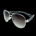 Sunglasses Black/Silv Wayfarer (mirror)
