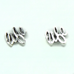 "Stud Earring - Silver ""Life"""