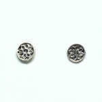 Stud Earring - Flowers in Circles