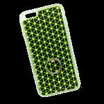 Tech - Black & Green Triangle Repeat
