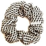 Deluxe Scrunchies Black and White