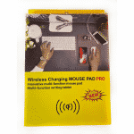 Tech - Wireless Phone Charger Mouse Pad