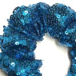 Deluxe Scrunchies Blue Sequence
